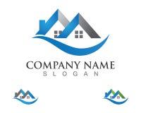 Property house and home logos template vector. Property house and  logos template vector Royalty Free Stock Photos