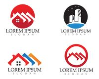 Property house and home logos template vector. Property house and home logos. template vector Royalty Free Stock Images