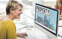 Property Housing Estate Ownership Concept Royalty Free Stock Image