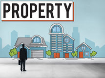 Property Housing Estate Ownership Concept Stock Image