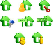 Property icon Royalty Free Stock Images