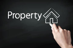 Property icon Royalty Free Stock Photography