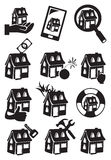 Property Icon Vector Illustration Royalty Free Stock Image