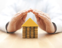 Property insurance concept Stock Photos
