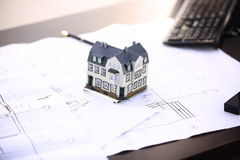 Property insurance concept Stock Images