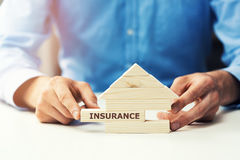 Property insurance. Conceptual image of property insurance Royalty Free Stock Photo