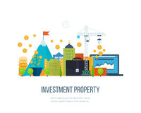 Property investment. Financial strategy concept. Stock Images