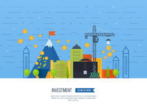 Property investment. Financial strategy concept. Stock Photos