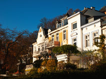 Property - investment. In the old part from the city, near the harbour in hamburg, germany Royalty Free Stock Image