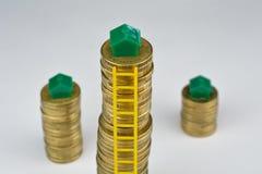 Property ladder Stock Image