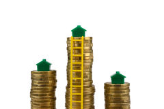 Property ladder Royalty Free Stock Photography