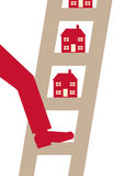 Property Ladder Royalty Free Stock Image