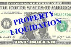 Property Liquidation concept Stock Image