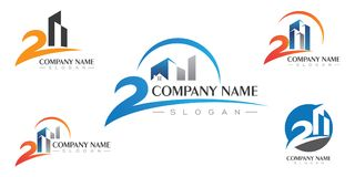 Property Logo Template Royalty Free Stock Image