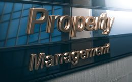 Property Management Company vector illustration