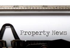 Free Property News Royalty Free Stock Image - 54642246