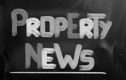 Property News Concept Royalty Free Stock Image