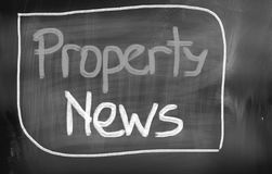 Property News Concept Royalty Free Stock Photos