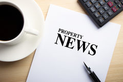 Property News Stock Image