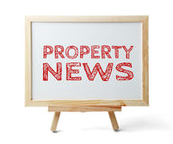 Property News Royalty Free Stock Photography