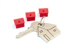 Property prices Royalty Free Stock Photos