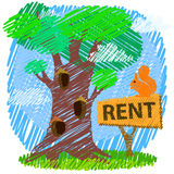 Property or real estate concept. Royalty Free Stock Photo