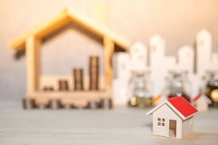 Property or real estate investment concept stock photography