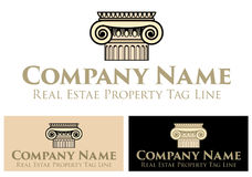 Property Real Estate Logo, Business Template Stock Image
