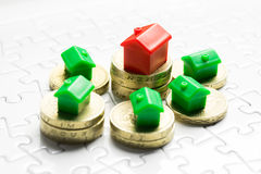 Property & real estate market game Stock Photography