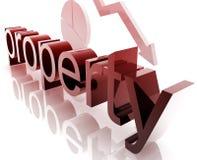 Property real estate worsening Royalty Free Stock Images