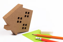 Property risk management. House risk insurance. Stock Photo