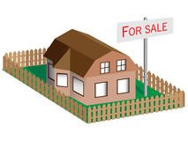 Property for sale Royalty Free Stock Photo