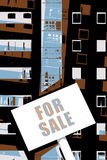 Property For Sale Illustration Stock Photography