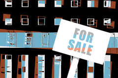 Property For Sale Illustration Stock Image