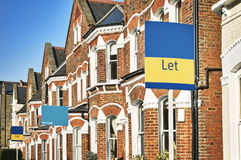 Property FOR SALE, London. Royalty Free Stock Photo
