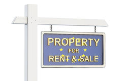 Property for sale and rent in European Union concept. Real Estat Royalty Free Stock Photography