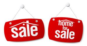 Property Sale Signs Stock Image