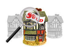 Property search Royalty Free Stock Photos