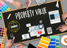 Property Value , Businessman Property Value , Real estate Proper Stock Images
