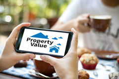 Property Value Residential Loan Purchase Agreement to Living  Mo Royalty Free Stock Image
