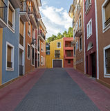 Property: Xirles, Nr Polop, Benidorm, Spain, APRIL 2014. Stock Image