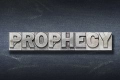 Free Prophecy Word Den Stock Photos - 153709333
