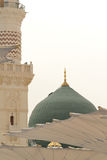 Prophet's Mosque in Medina Saudi Arabia stock photography