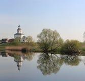 Prophet Elijah's Church, Suzdal. Prophet Elijah's Church (1744), Suzdal. Golden Ring, Russia Stock Image