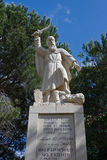Prophet Elijah statue Royalty Free Stock Photo