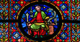 The Prophet Isaiah Royalty Free Stock Images