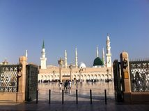 The Prophet Muhammad's Masjid Royalty Free Stock Images