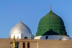 Prophet ` s Grab ist unter dem Green Dome Lizenzfreie Stockfotografie