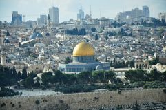 Prophets of Jerusalem city. The city of Jerusalem and the Aqsa Mosque prophet Royalty Free Stock Image