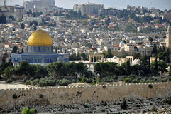 Prophets of Jerusalem city. The city of Jerusalem and the Aqsa Mosque prophet Stock Image